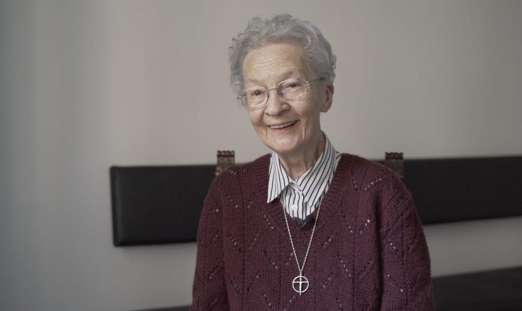 Sr Marguerite-Christiane BERSET a fêté ses 70 ans de profession.